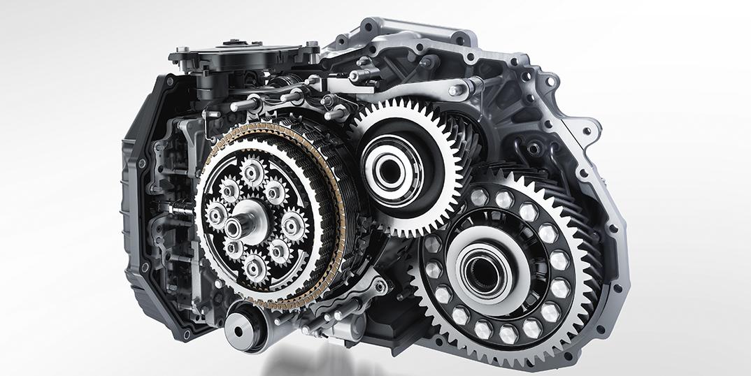 Zerlegtes Automatikgetriebe